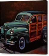 Woodie Canvas Print