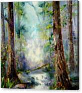 Woodland Creek 1.0 Canvas Print