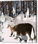 Woodland Nature Canvas Print