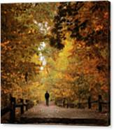 Woodland Promenade Canvas Print
