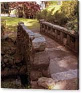 Woodlawn Footbridge Canvas Print