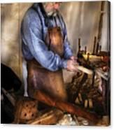 Woodworker - The Carpenter Canvas Print