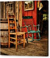 Woodworker's Porch Canvas Print