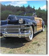 Woody  Chrysler Canvas Print