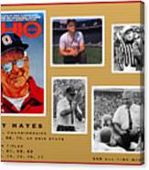 Woody Hayes Legen Five Panel Canvas Print