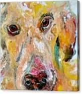 Woof Canvas Print