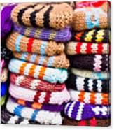 Wool Socks Canvas Print