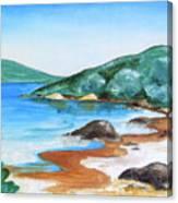 Woolleys Bay New Zealand Northland Canvas Print