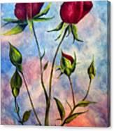 Woop Woop Rose Canvas Print
