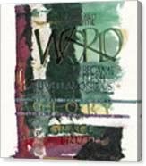 Word Canvas Print