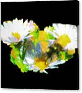 Work Of A Bee Canvas Print