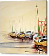 Working Boats Canvas Print