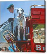 Working Dog Canvas Print