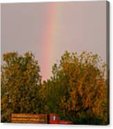 Working Rainbow Canvas Print