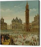 Workshop Of Caullery, Louis De Caulery Circa 1580 - 1621 Antwerp Carnival In Venice. Canvas Print
