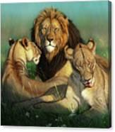 World Lion Day Canvas Print