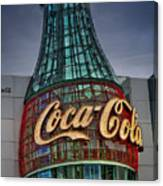 World Of Coca Cola Canvas Print