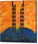 World Trade Towers  Canvas Print