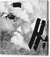 World War I: Aerial Combat Canvas Print