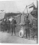 World War I: Aviators, 1914 Canvas Print