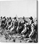 World War I: Camel Corps Canvas Print