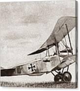 World War I: German Biplane Canvas Print