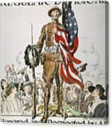 World War I: U.s. Army Canvas Print