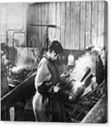 World War I: Women Workers Canvas Print