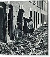 World War II: Blitz, 1940 Canvas Print