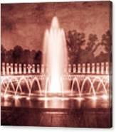 World War II Memorial IIib Canvas Print