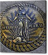 World War II Monument Canvas Print