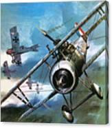 World War One Dogfight Canvas Print