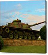 World War Two Tank Canvas Print