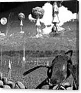 Book Illustation - World War Zero Canvas Print