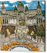 Worlds Fair Pavillon Facing Promenade Of Nations Canvas Print