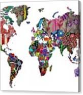 Worldwide Canvas Print