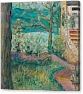 Worman House At Big Cedar Lodge Canvas Print