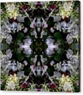 Wornhole Mandala Canvas Print