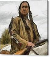 Wounded Knee Canvas Print