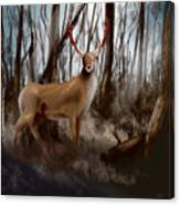 Wounded Wanderer Canvas Print