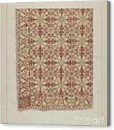 Woven Coverlet Canvas Print