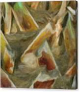 Woven Canvas Print