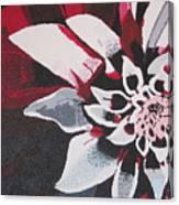 Wow Dahlia Canvas Print