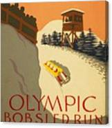Wpa Olympic Canvas Print