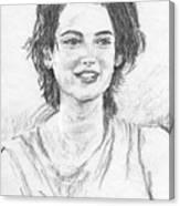 W.r. Canvas Print