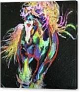 Wraggle Taggle Gypsy Cob Canvas Print