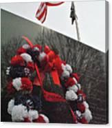 Wreath Of The Korean War Canvas Print