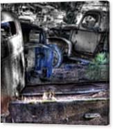 Wrecking Yard Study 12 Canvas Print