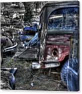 Wrecking Yard Study 13 Canvas Print