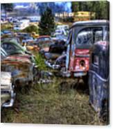 Wrecking Yard Study 21 Canvas Print